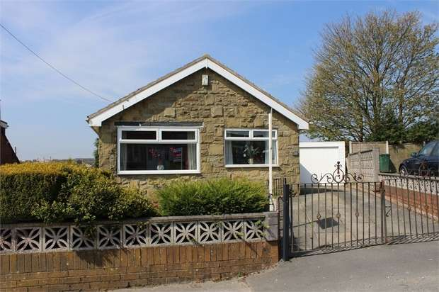 2 Bedrooms Detached Bungalow for sale in Weston Avenue, Queensbury, Bradford, West Yorkshire