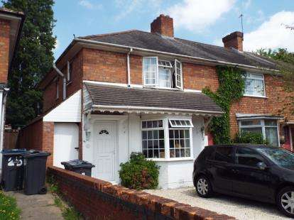 3 Bedrooms Terraced House for sale in Hornsey Road, Birmingham, West Midlands