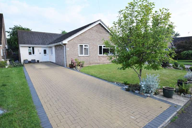 3 Bedrooms Detached Bungalow for sale in The Croft, Bardwell