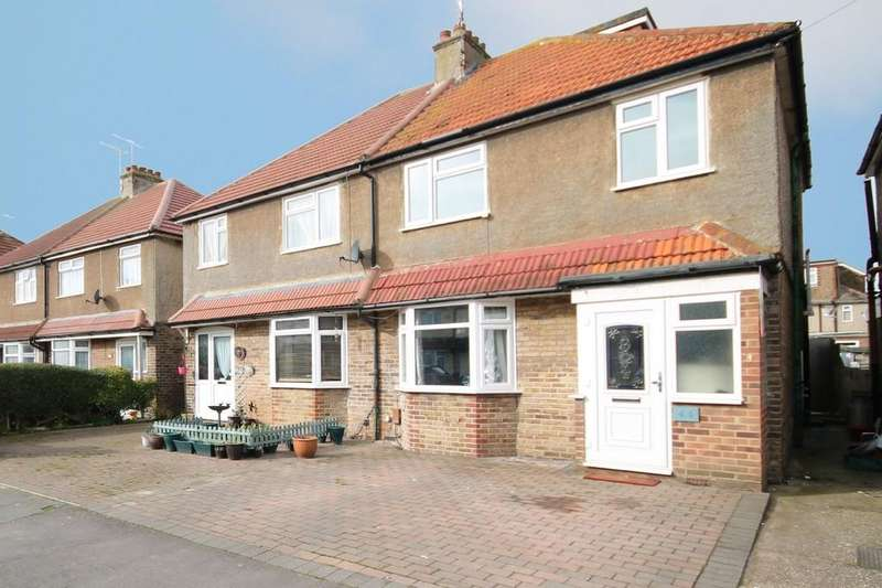 3 Bedrooms Semi Detached House for sale in First Avenue, Lancing, BN15 9QG