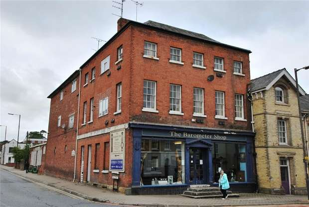 4 Bedrooms Commercial Property for sale in The Barometer Shop, 25 Broad Street, Leominster, Herefordshire