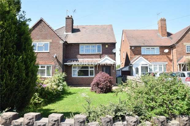 3 Bedrooms Semi Detached House for sale in Westminster Road, WEST BROMWICH, West Midlands