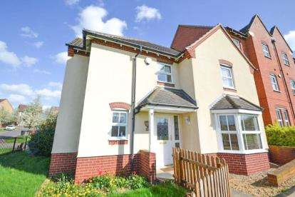 4 Bedrooms Semi Detached House for sale in John Lea Way, Wellingborough