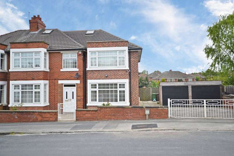 5 Bedrooms Semi Detached House for sale in Cyprus Street, Wakefield