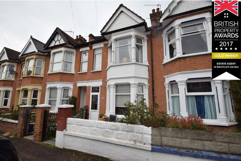 3 Bedrooms Terraced House for sale in Rochford Avenue, Westcliff On Sea, SS0