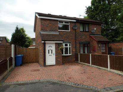 2 Bedrooms Semi Detached House for sale in Chepstow Close, Callands, Warrington, Cheshire, WA5