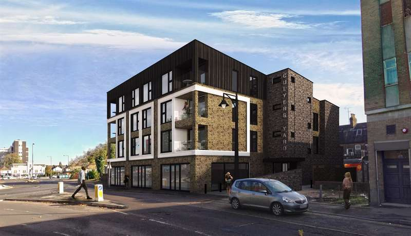 2 Bedrooms Flat for sale in Culyers Yard, William Hunter Way, Brentwood, CM14