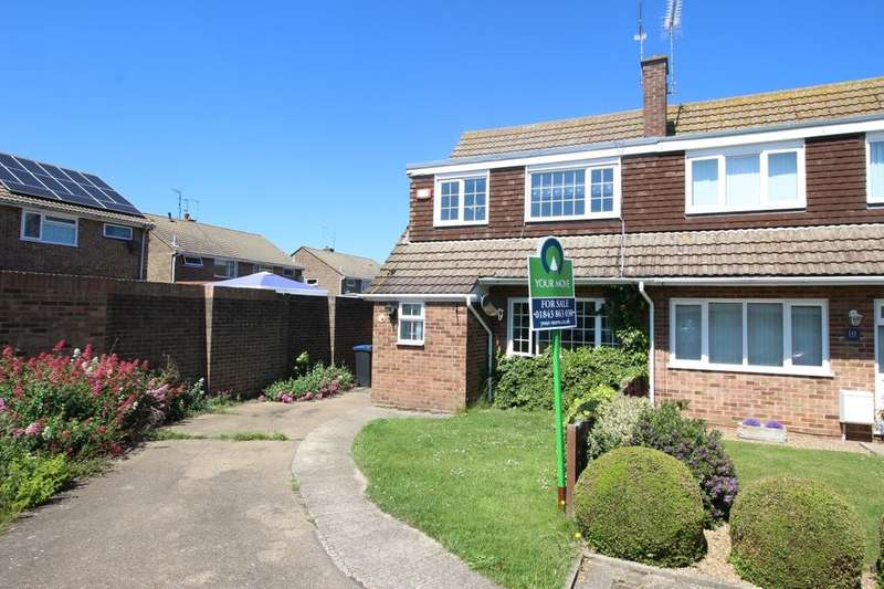3 Bedrooms Semi Detached House for sale in The Silvers, Broadstairs, CT10