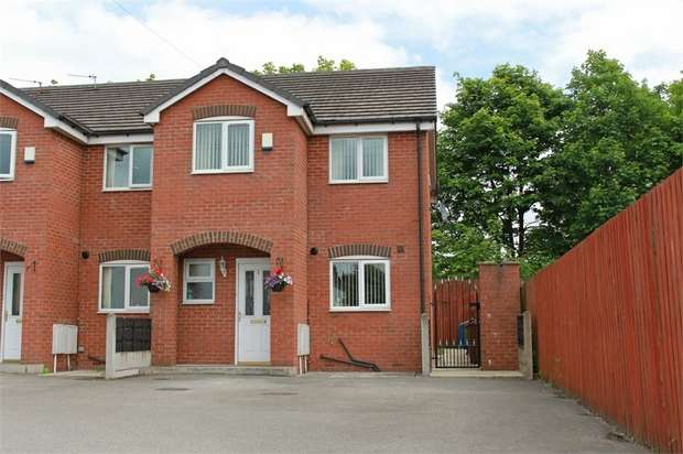 3 Bedrooms End Of Terrace House for sale in Livsey Street, Whitefield, Manchester, Lancashire