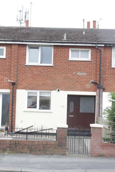 2 Bedrooms Terraced House for sale in Preston Old Road, Blackpool, Lancashire, FY3