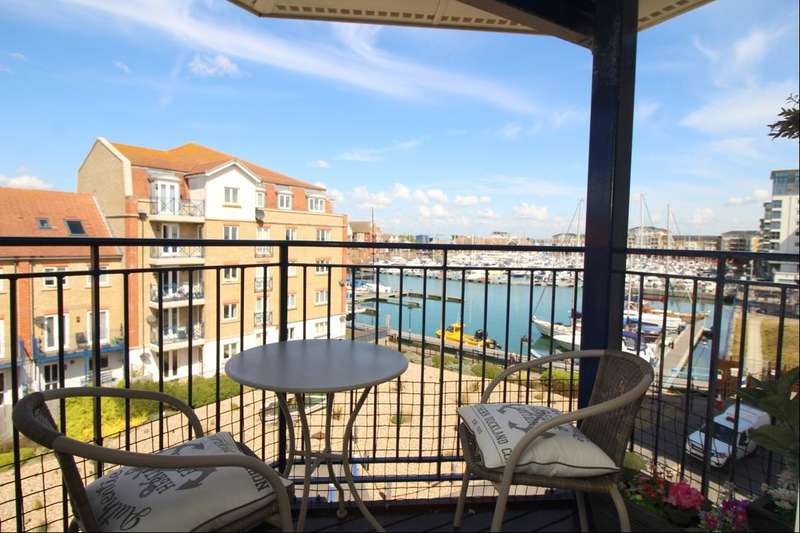2 Bedrooms Flat for sale in Key West, Eastbourne, BN23