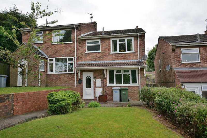 3 Bedrooms Semi Detached House for sale in Lynnes Close, Blidworth