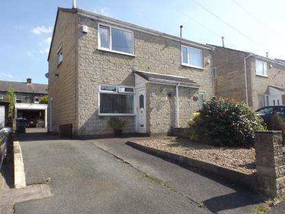 2 Bedrooms Semi Detached House for sale in Banks Road, Golcar, Huddersfield, West Yorkshire