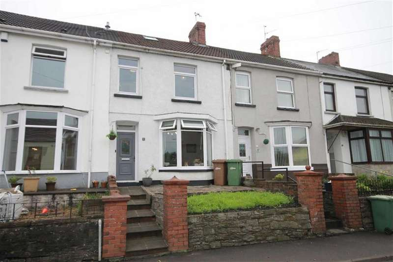 4 Bedrooms Terraced House for sale in Springfield Terrace, Nelson, CF46