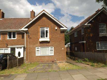 3 Bedrooms End Of Terrace House for sale in Swancote Road, Stechford, Birmingham, West Midlands