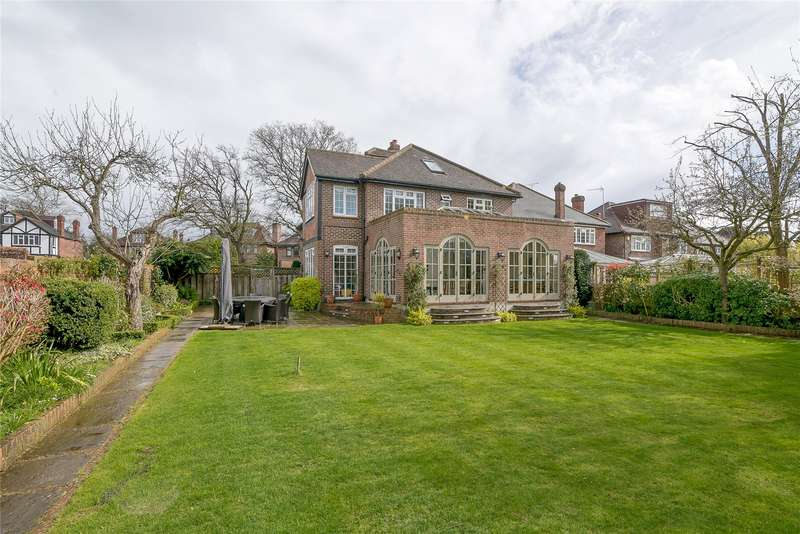6 Bedrooms Detached House for sale in Barham Road, London, Wimbledon, SW20