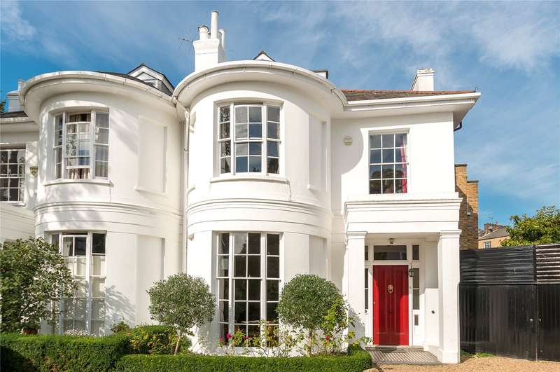 6 Bedrooms Semi Detached House for sale in Mountfort Crescent, Barnsbury, N1