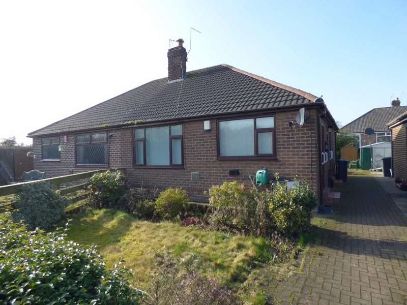 2 Bedrooms Semi Detached Bungalow for sale in Ryecroft Close, Chadderton, Oldham, OL9