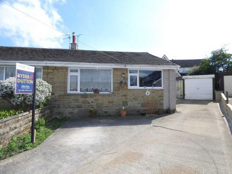 2 Bedrooms Bungalow for sale in Wentworth Grove, Bradshaw, Halifax, West Yorkshire, HX2