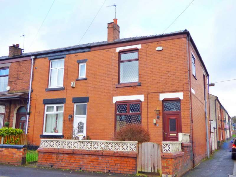 3 Bedrooms End Of Terrace House for sale in Starkey Street, Heywood, Lancashire, OL10