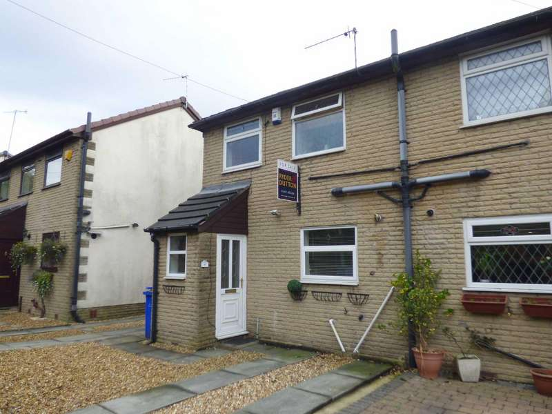 2 Bedrooms End Of Terrace House for sale in Milton View, Wood Bank Terrace, Mossley, Lancashire, OL5