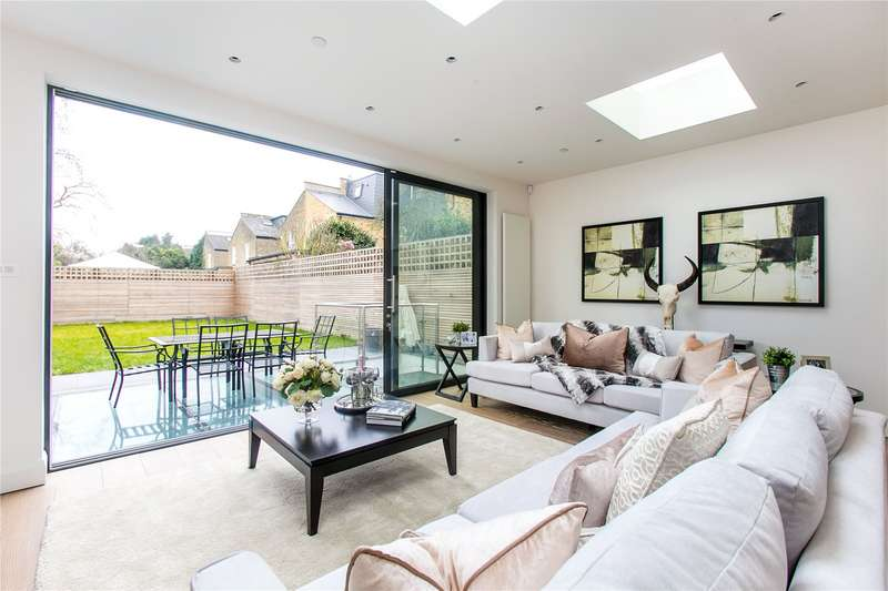 6 Bedrooms Semi Detached House for sale in Stevenage Road, Bishops Park, Fulham, London, SW6