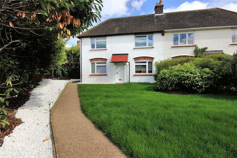 3 Bedrooms Semi Detached House for sale in Westfield Road, Woking, Surrey, GU22