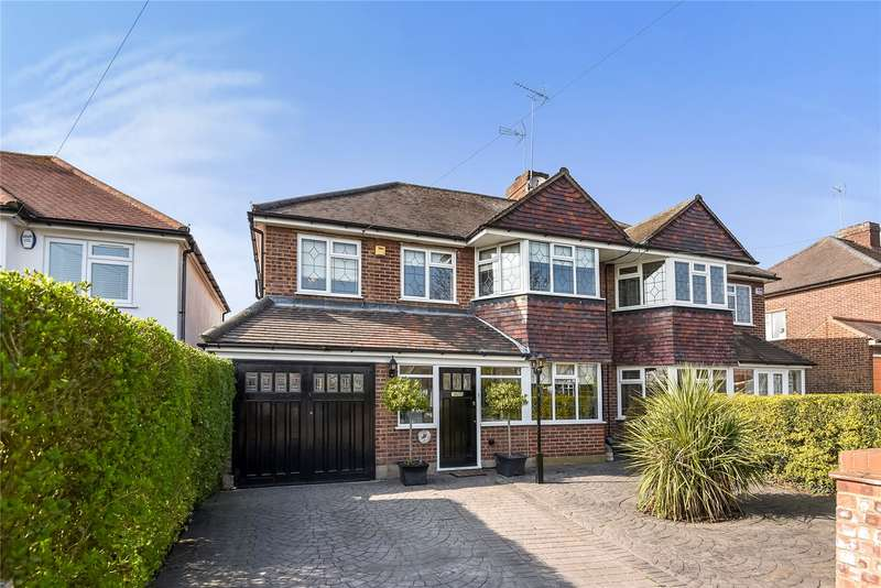 4 Bedrooms Semi Detached House for sale in Forest Drive, Theydon Bois, Epping, Essex, CM16