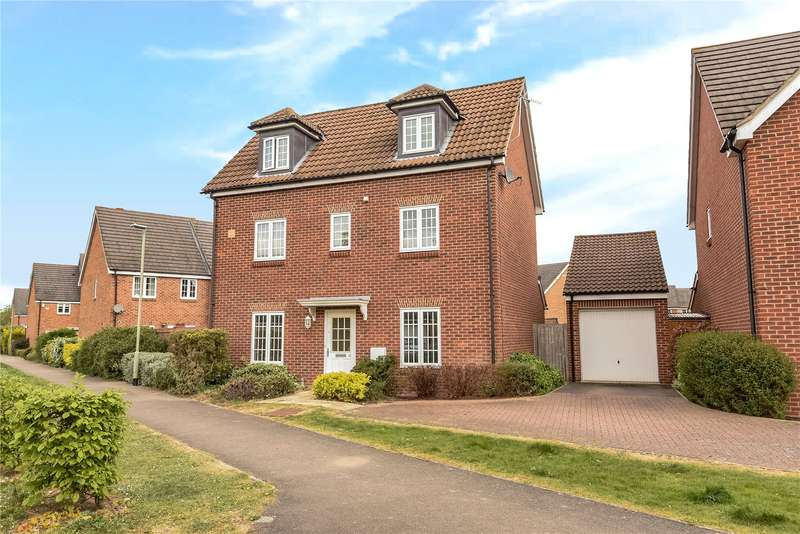 4 Bedrooms Detached House for sale in Jersey Drive, Winnersh, Berkshire, RG41