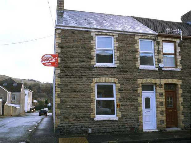 3 Bedrooms End Of Terrace House for sale in Meadow Street, Cwmavon, Port Talbot, West Glamorgan
