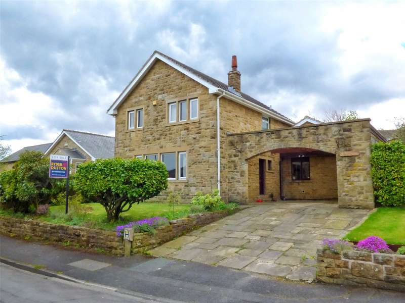 4 Bedrooms Detached House for sale in Cherry Tree Walk, Scholes, Holmfirth, West Yorkshire, HD9