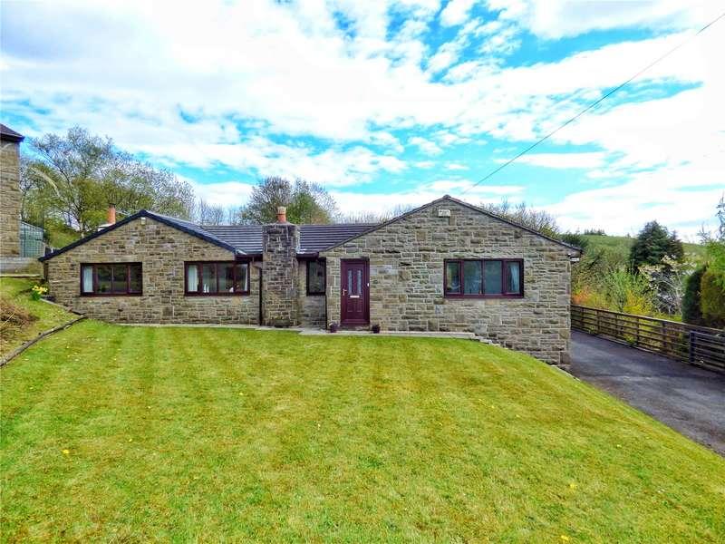 4 Bedrooms Detached Bungalow for sale in Hazel Grove, Bacup, Lancashire, OL13