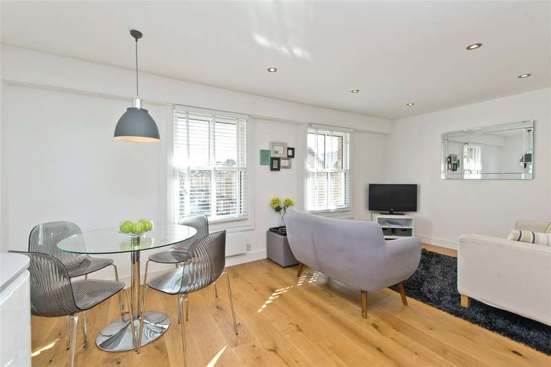 2 Bedrooms Flat for sale in Homefield Road, London, SW19