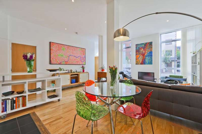 3 Bedrooms Flat for sale in Peckham Grove, London SE15