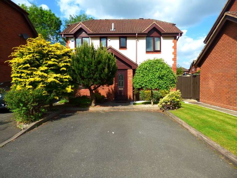 4 Bedrooms Detached House for sale in Pinewoods, Bartley Green, Birmingham, B32 3RD