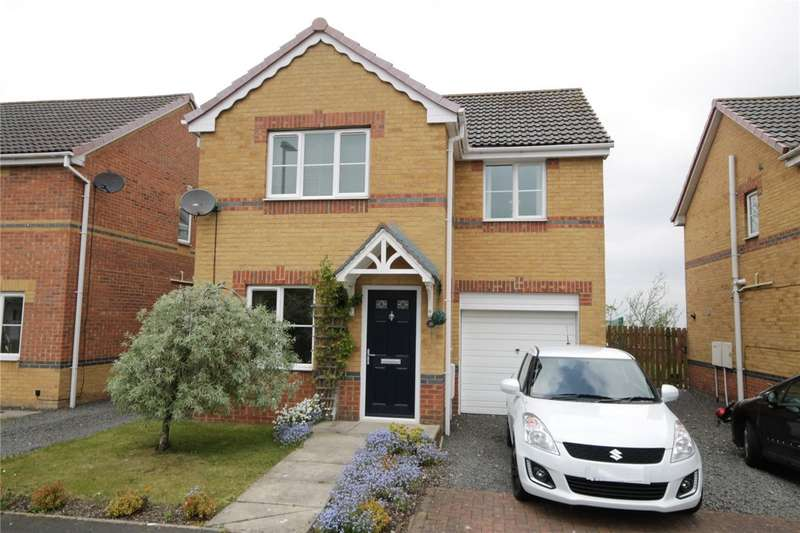 3 Bedrooms Detached House for sale in St Ives Gardens, Leadgate, Consett, DH8