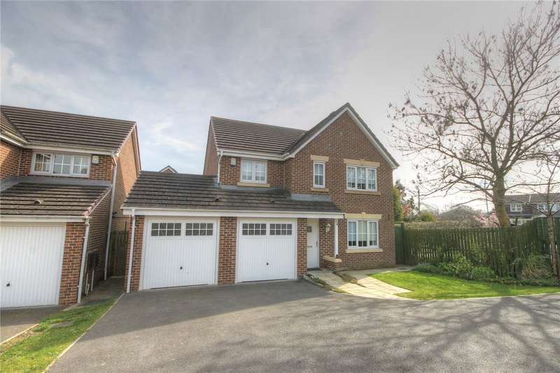 4 Bedrooms Detached House for sale in Beckwith Close, Kirk Merrington, Spennymoor, DL16