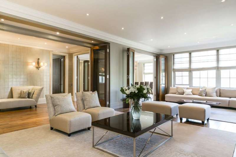 6 Bedrooms Apartment Flat for sale in Abbey Lodge, St John`s Wood NW8