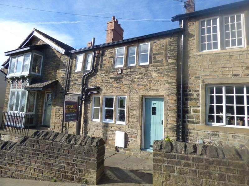 3 Bedrooms Terraced House for sale in St Helens Gate, Almondbury, HUDDERSFIELD, West Yorkshire, HD4