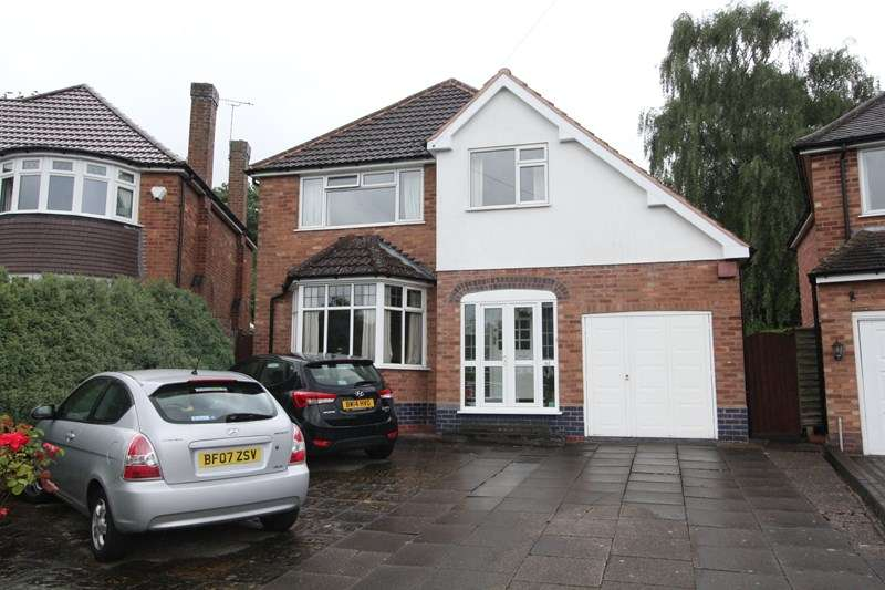 3 Bedrooms Detached House for sale in Greswolde Road, Solihull