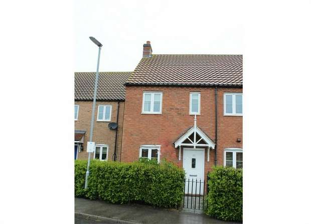 2 Bedrooms End Of Terrace House for sale in Thomas Kitching Way, Bardney, Lincoln