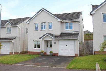 4 Bedrooms Detached House for sale in Station Brae Gardens, Dreghorn, Irvine, North Ayrshire