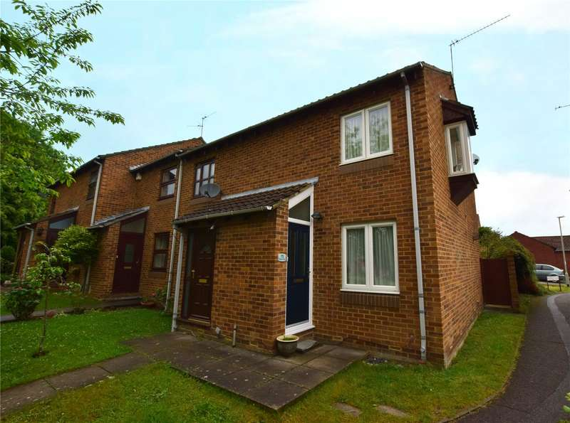 2 Bedrooms End Of Terrace House for sale in Bridport Close, Lower Earley, Reading, Berkshire, RG6
