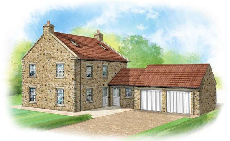 5 Bedrooms Village House for sale in Hackforth, Bedale, DL8 1BF