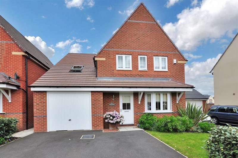 5 Bedrooms Detached House for sale in Yates Croft, Farnsfield, Nottinghamshire, NG22