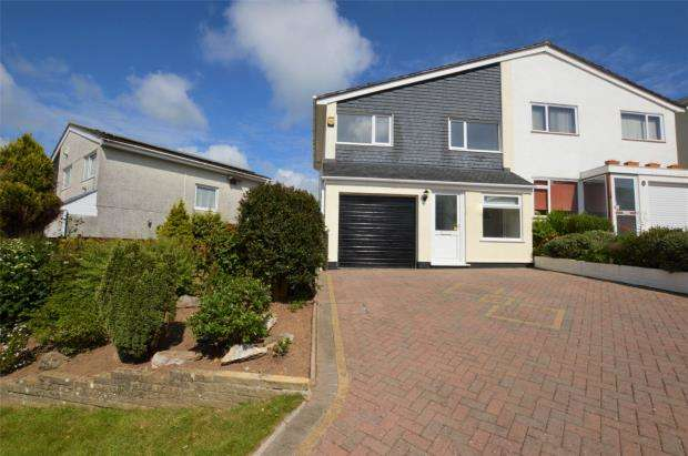 3 Bedrooms Semi Detached House for sale in Hemerdon Heights, Plymouth, Devon