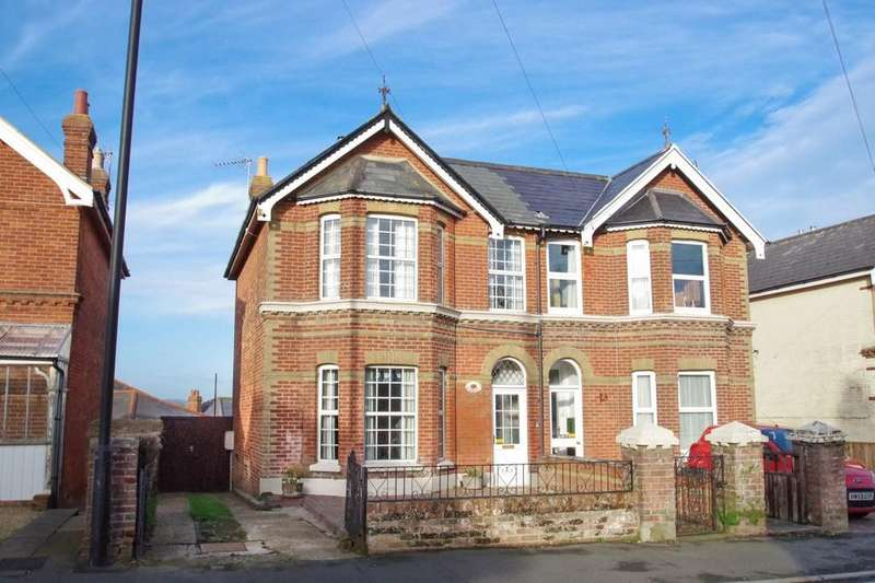 4 Bedrooms Semi Detached House for sale in Wilton Park Road, Shanklin, PO37