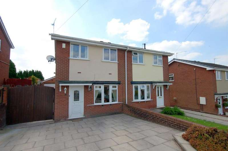 3 Bedrooms Semi Detached House for sale in Tilewright Close, Kidsgrove