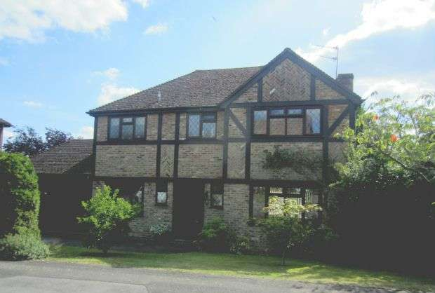 4 Bedrooms Detached House for sale in MARTINS HERON - 4 Bedroom Detached House by Charles Church - Drive, Garage & Garden