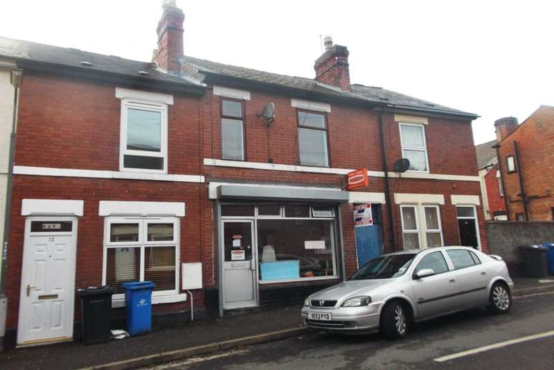 2 Bedrooms Commercial Property for sale in Moss Street, Derby